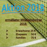 Mitgliederaktion 2018
