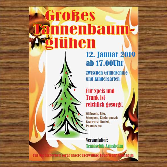 Tannenbaumglühen 2019 Armsheim