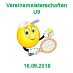 Vereinsmeisterschaften U9 2018