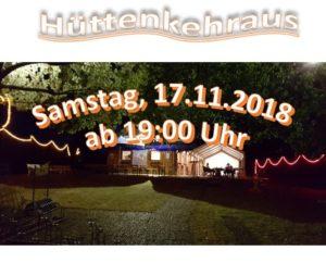 Hüttenkehraus2018
