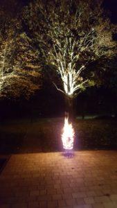 Terrassenfeuer zum Hüttenkehraus 2018